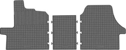 CIK-CAR gumowe dywaniki samochodowe Citroen Jumper od 2014r. CIT00001