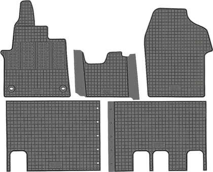 CIK-CAR gumowe dywaniki samochodowe Citroen Jumpy III od 2016r.  CIT00019 CIT00020
