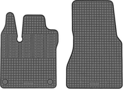 CIK-CAR gumowe dywaniki samochodowe Smart Fortwo III 2 osobowy od 2014-2020r. SMAR00001