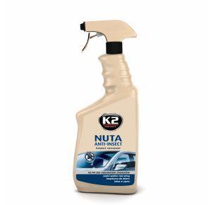 K2 NUTA ANTI-INSECT 700 ML  Środek do usuwania owadów z szyb i karoserii K117