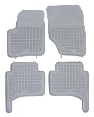 REZAW PLAST popielate gumowe dywaniki samochodowe Volkswagen Touareg od 2002-2010r. 200105S