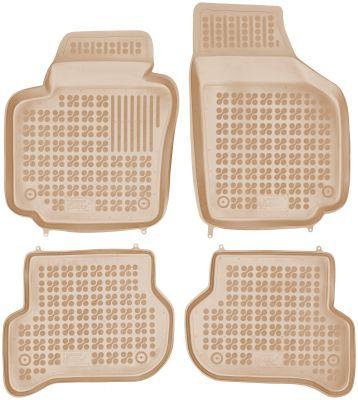REZAW PLAST beżowe gumowe dywaniki samochodowe Skoda Yeti od 2009r. 200106B/Z