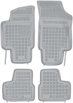 REZAW PLAST popielate gumowe dywaniki samochodowe Skoda Citigo od 2012r. 200115S/Z