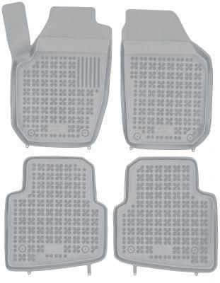 REZAW PLAST popielate gumowe dywaniki samochodowe Skoda Roomster od 2006r. 200205S/Z