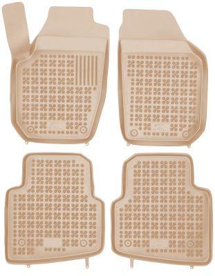REZAW PLAST beżowe gumowe dywaniki samochodowe Skoda Roomster od 2006r. 200205B/Z