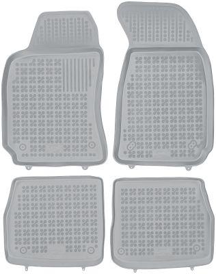 REZAW PLAST popielate gumowe dywaniki samochodowe Skoda SuperB I od 2001-2008r. 200207S/Z