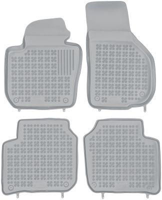 REZAW PLAST popielate gumowe dywaniki samochodowe Skoda SuperB II od 2008-2015r. 200208S/Z
