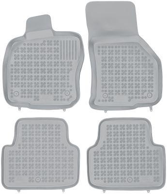 REZAW PLAST popielate gumowe dywaniki samochodowe Skoda Octavia III od 2013r. 200210S/Z