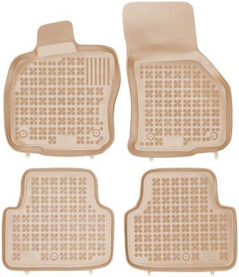 REZAW PLAST beżowe gumowe dywaniki samochodowe Skoda Octavia III od 2013r. 200210B/Z