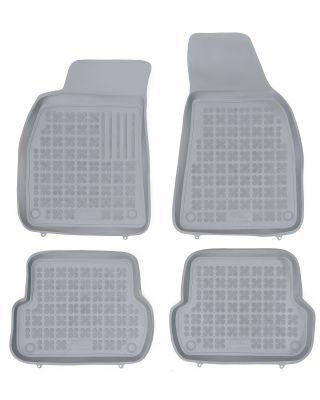REZAW PLAST popielate gumowe dywaniki samochodowe Audi A4 B6 B7 od 2000-2007r. 200301S
