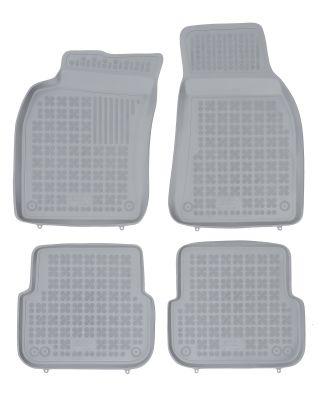 REZAW PLAST popielate gumowe dywaniki samochodowe Audi A6 C6 Avant Kombi od 2004-2006r. 200303S