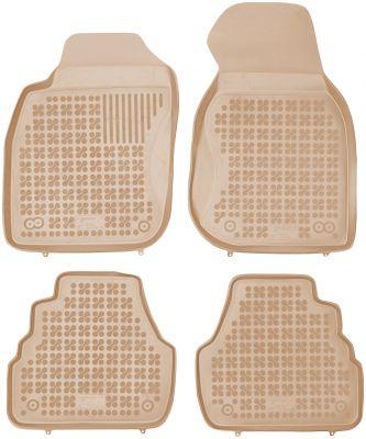 REZAW PLAST beżowe gumowe dywaniki samochodowe Audi A6 C5 od 1997-2004r. 200304B/Z