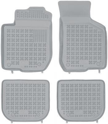 REZAW PLAST popielate gumowe dywaniki samochodowe Audi A3 I od 1996-2006r. 200305S/Z