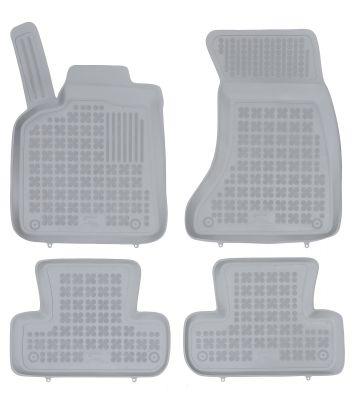 REZAW PLAST popielate gumowe dywaniki samochodowe Audi Q5 od 2008-2017r. 200306S