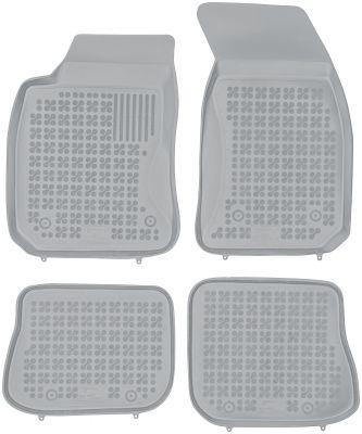 REZAW PLAST popielate gumowe dywaniki samochodowe Audi A4 B5 od 1995-2001r. 200310S/Z