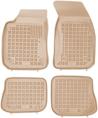 REZAW PLAST beżowe gumowe dywaniki samochodowe Audi A4 B5 od 1995-2001r. 200310B/Z