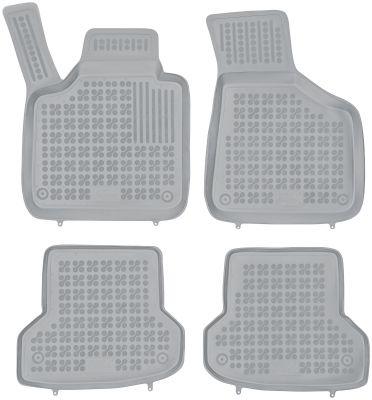 REZAW PLAST popielate gumowe dywaniki samochodowe Audi A3 S3 od 2006-2012r. 200311S/Z