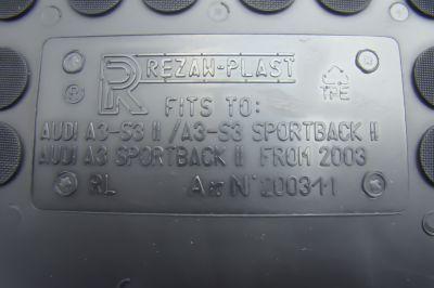 REZAW PLAST gumowe dywaniki samochodowe Audi A3 S3 Sportback od 2006-2012r. 200311
