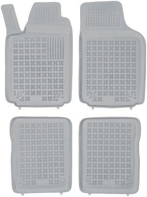 REZAW PLAST popielate gumowe dywaniki samochodowe Audi A2 od 2000-2005r. 200312S/Z