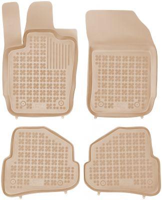 REZAW PLAST beżowe gumowe dywaniki samochodowe Audi A1 od 2010r. 200313B/Z