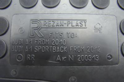 REZAW PLAST gumowe dywaniki samochodowe Audi A1 Sportback od 2012r. 200313