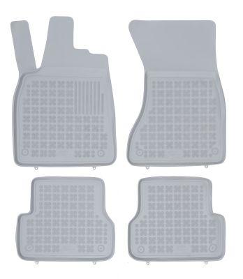 REZAW PLAST popielate gumowe dywaniki samochodowe Audi A6 C7 IV od 2011-2018r. 200314S