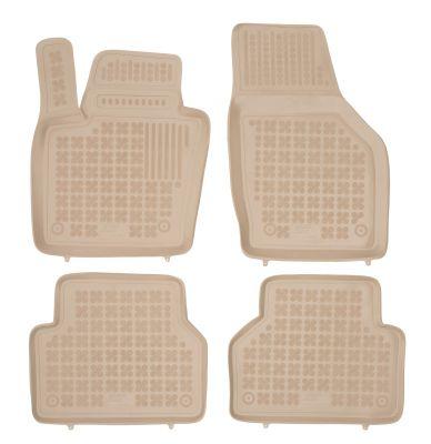 REZAW PLAST beżowe gumowe dywaniki samochodowe Audi Q3 od 2011r. 200315B