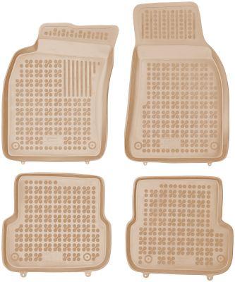 REZAW PLAST beżowe gumowe dywaniki samochodowe Audi A6 C6 od 2008-2011r. 200317B/Z