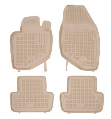 REZAW PLAST beżowe gumowe dywaniki samochodowe Volvo V70 od 1999-2007r. 200402B