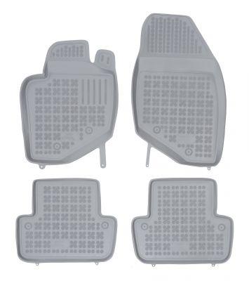 REZAW PLAST popielate gumowe dywaniki samochodowe Volvo XC70 od 1999-2007r. 200402S