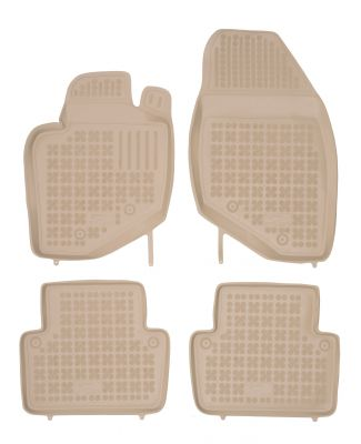 REZAW PLAST beżowe gumowe dywaniki samochodowe Volvo S80 od 1998-2006r. 200403B