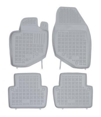 REZAW PLAST popielate gumowe dywaniki samochodowe Volvo S80 od 1998-2006r. 200403S