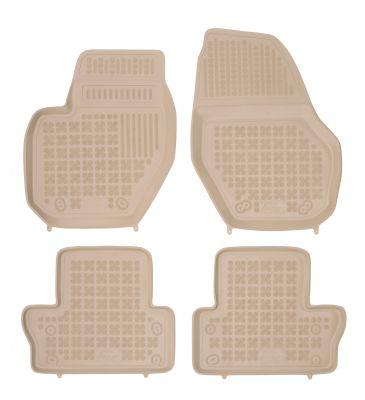 REZAW PLAST beżowe gumowe dywaniki samochodowe Volvo S60 II od 2010r. 200404B