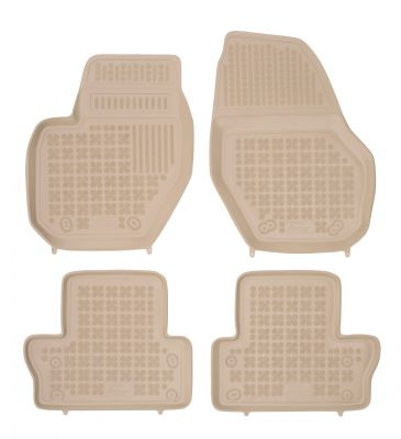 REZAW PLAST beżowe gumowe dywaniki samochodowe Volvo V60 od 2011r. 200404B
