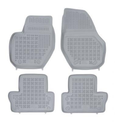 REZAW PLAST popielate gumowe dywaniki samochodowe Volvo V60 od 2011r. 200404S