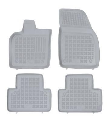 REZAW PLAST popielate gumowe dywaniki samochodowe Volvo V50 II od 2004-2012r. 200408S
