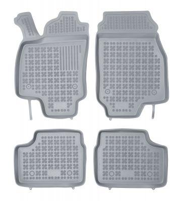 REZAW PLAST popielate gumowe dywaniki samochodowe Opel Astra II G od 1998-2009r. 200505S