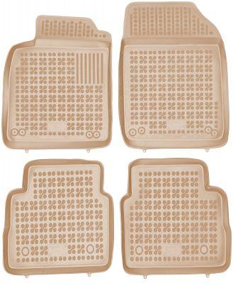 REZAW PLAST beżowe gumowe dywaniki samochodowe Opel Signum od 2003-2008r. 200508B/Z