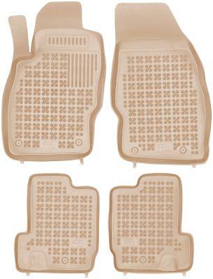 REZAW PLAST beżowe gumowe dywaniki samochodowe Opel Adam od 2013r. 200520B/Z