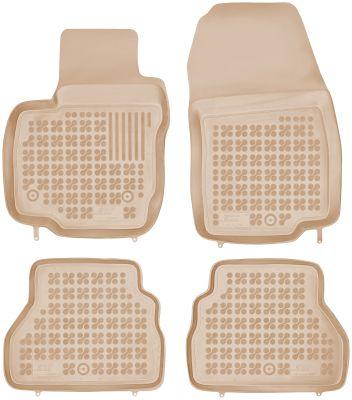 REZAW PLAST beżowe gumowe dywaniki samochodowe Ford B-Max od 2012r. 200616B/Z