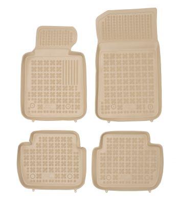REZAW PLAST beżowe gumowe dywaniki samochodowe BMW s3 E46 od 1998-2007r. 200702B