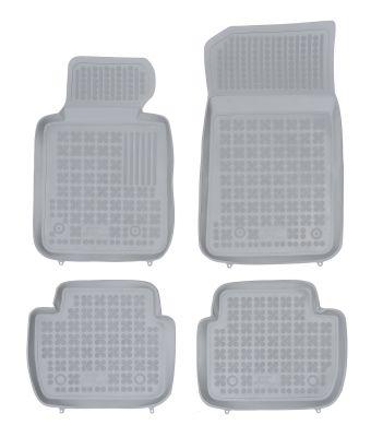 REZAW PLAST popielate gumowe dywaniki samochodowe BMW s3 E46 od 1998-2007r. 200702S