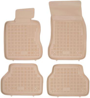 REZAW PLAST beżowe gumowe dywaniki samochodowe BMW s5 E61 od 2003-2010r. 200703B