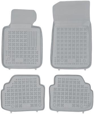 REZAW PLAST popielate gumowe dywaniki samochodowe BMW s3 E92 Coupe od 2007r. 200705S/Z