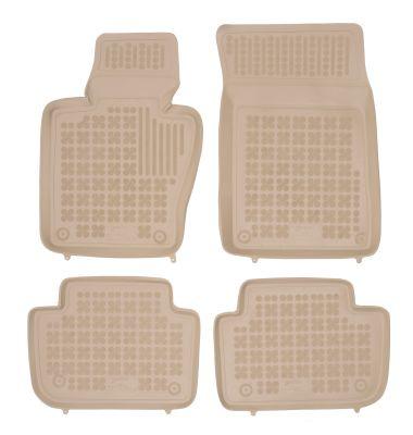 REZAW PLAST beżowe gumowe dywaniki samochodowe BMW X3 E83 od 2004-2010r. 200708B