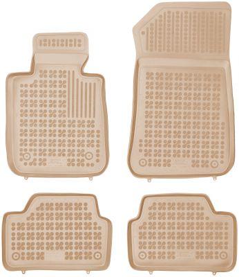 REZAW PLAST beżowe gumowe dywaniki samochodowe BMW s1 F20 od 2011r. 200710B/Z