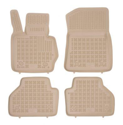 REZAW PLAST beżowe gumowe dywaniki samochodowe BMW X3 II F25 od 2010-2017r. 200714B