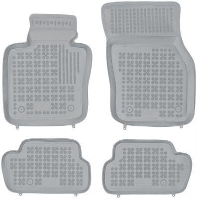 REZAW PLAST popielate gumowe dywaniki samochodowe Mini One Cooper III od 2013r. 200719S/Z