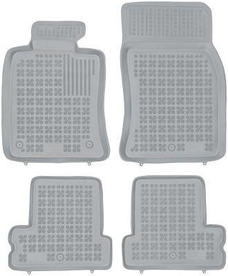 REZAW PLAST popielate gumowe dywaniki samochodowe Mini One Cooper I/II od 2001-2013r. 200720S/Z