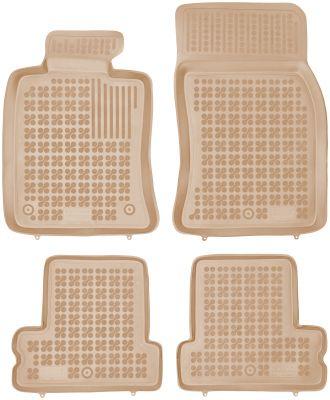 REZAW PLAST beżowe gumowe dywaniki samochodowe Mini One Cooper I/II od 2001-2013r. 200720B/Z